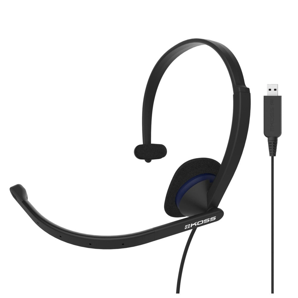 KOSS | CS195 USB Communication Headset Headphones | Melbourne Hi Fi
