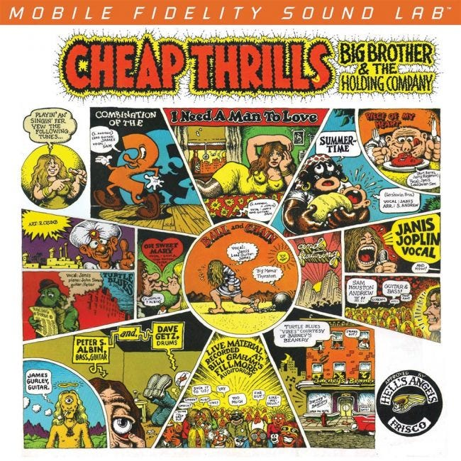 MoFi | Big Brother and the Holding Company - Cheap Thrills 2LP | Melbourne Hi Fi