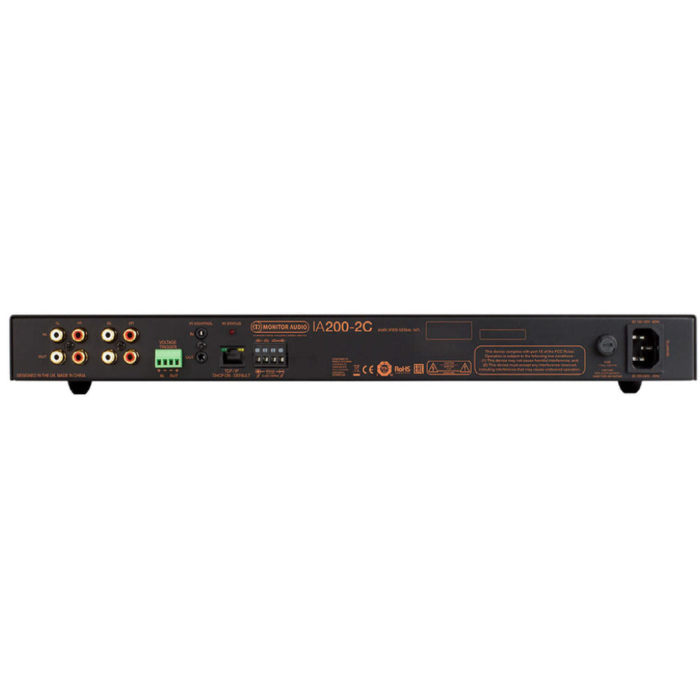 Monitor Audio| IA200-2C Installation Stereo Amplifier |Melbourne Hi Fi1