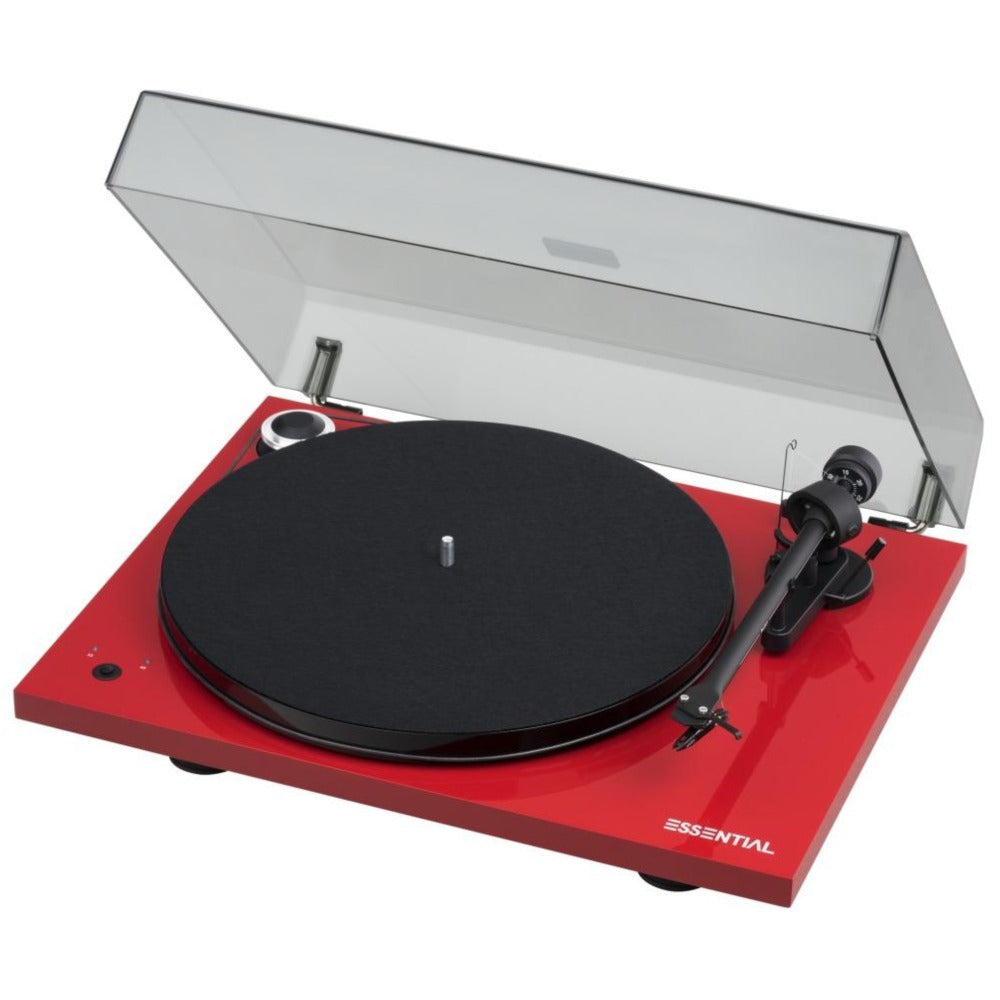 Pro-Ject | Essential III Recordmaster Turntable Red Open Box | Melbourne Hi Fi