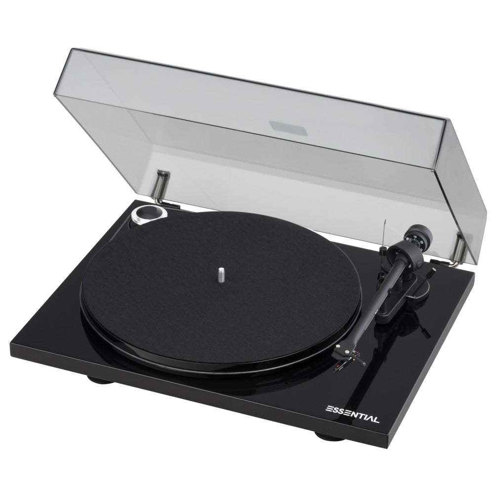Pro-Ject |Essential III Turntable with OM10 Cartridge Piano Black Open Box|Melbourne Hi Fi1