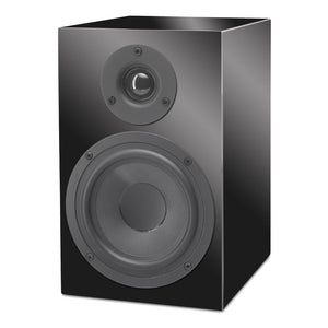 Pro-Ject |Speaker Box 5 Bookshelf Speakers Piano Black Open Box |Melbourne Hi Fi1