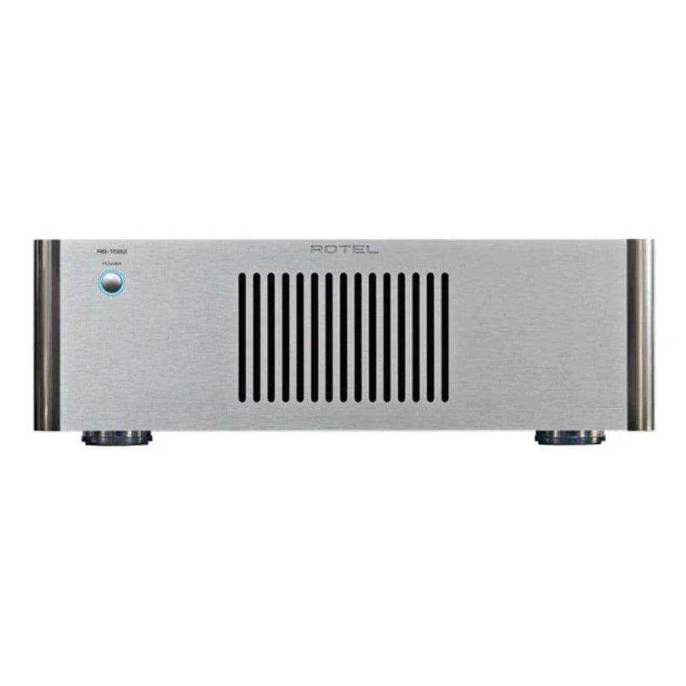 Rotel | RB-1582 MK II Stereo Power Amplifier Silver Open Box | Melbourne Hi Fi