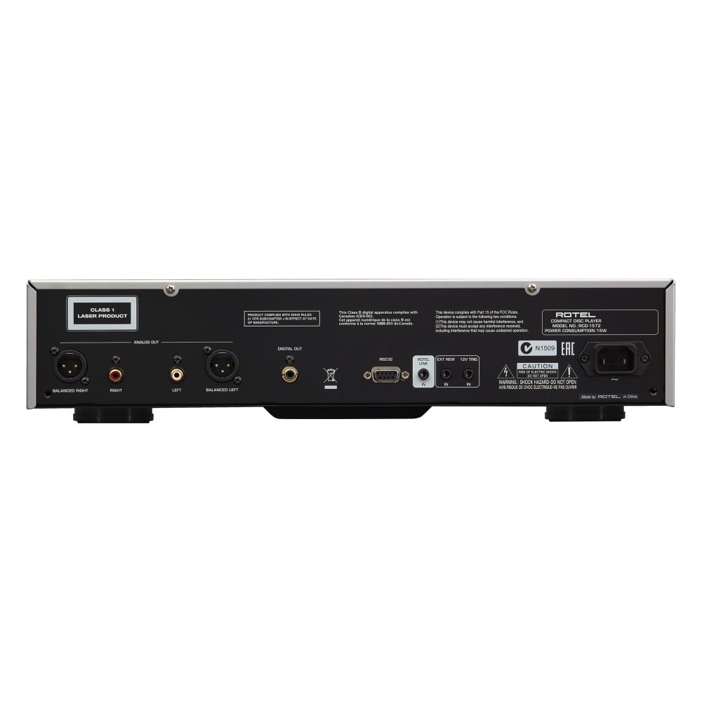 Rotel | RCD-1572 CD Player Black Open Box | Melbourne Hi Fi1