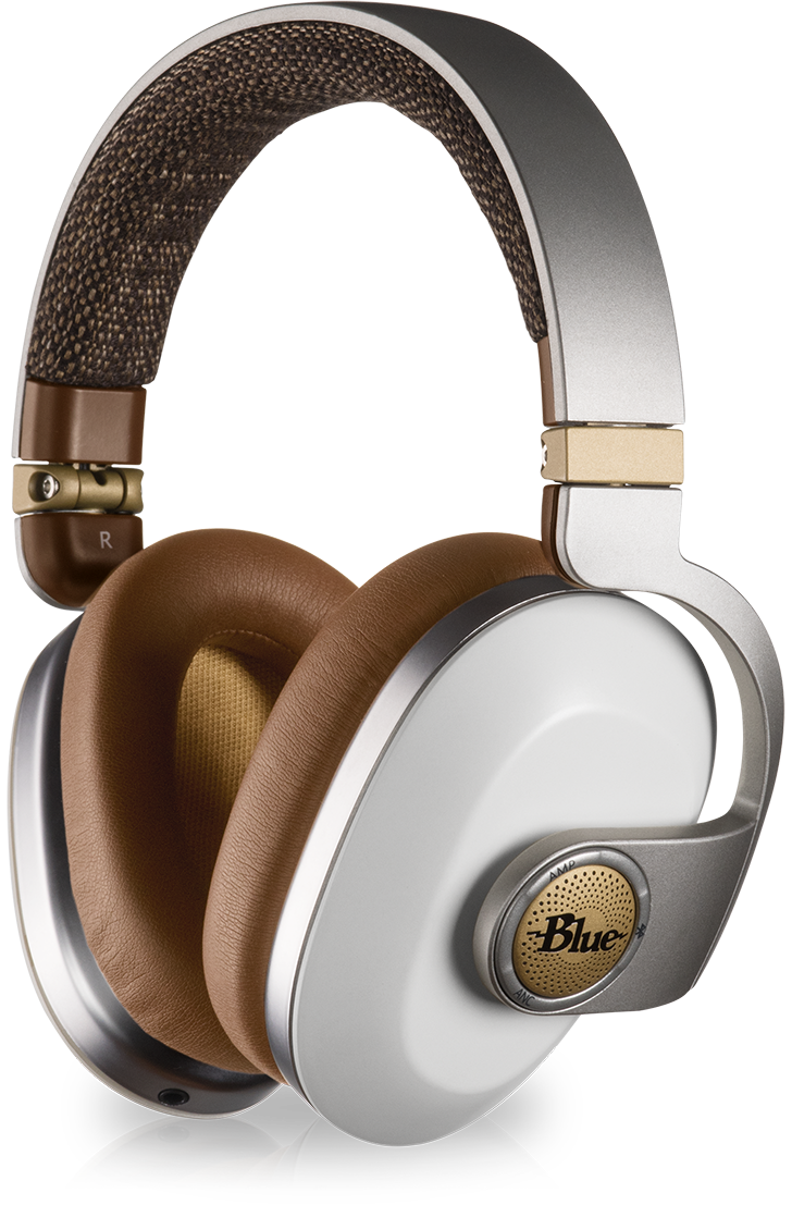 Blue Satellite Over-Ear Bluetooth Headphones at Melbourne Hi Fi, Australia