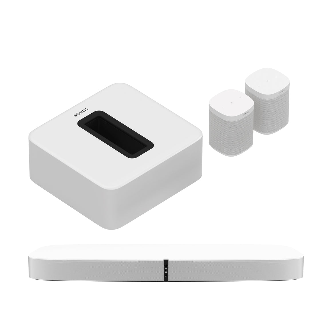 Sonos Sports Pack: 5.1 Home Theater Surround Set (Playbase)