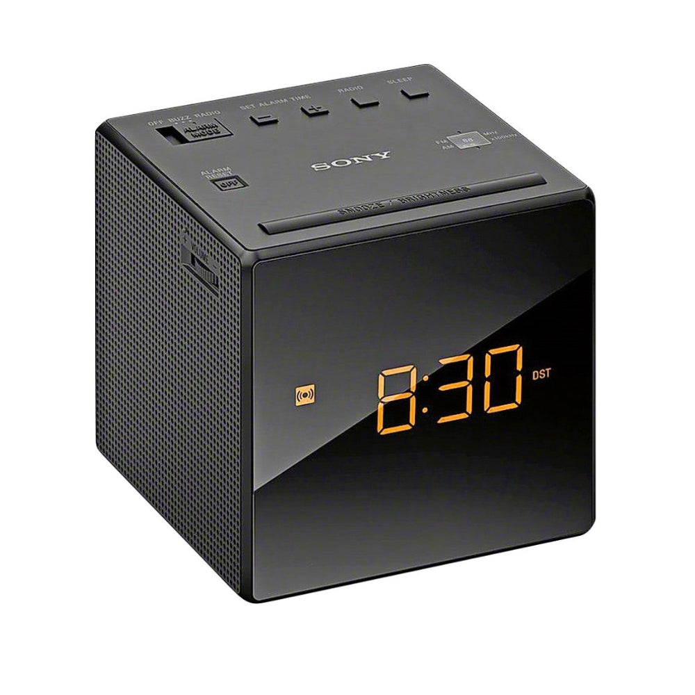 Sony | ICF-C1 Clock Radio Black Open Box | Melbourne Hi Fi