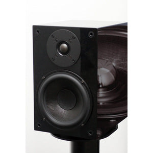 Wilson Benesch Square 1 Loudspeaker Gloss Black inc Stands Display | Melbourne Hi Fi | Hawthorn VIC