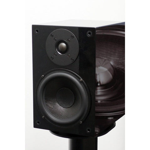 Wilson Benesch Square 1 Loudspeaker Gloss Black inc Stands Display