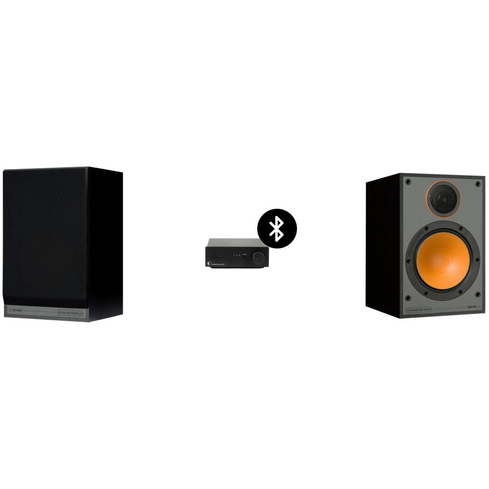 Pro-Ject Stereo Box S2 BT and Monitor Audio Speaker Pack | Melbourne Hi Fi