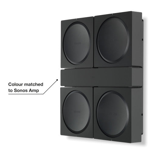 Flexson Wall Bracket for Sonos AMP x 4