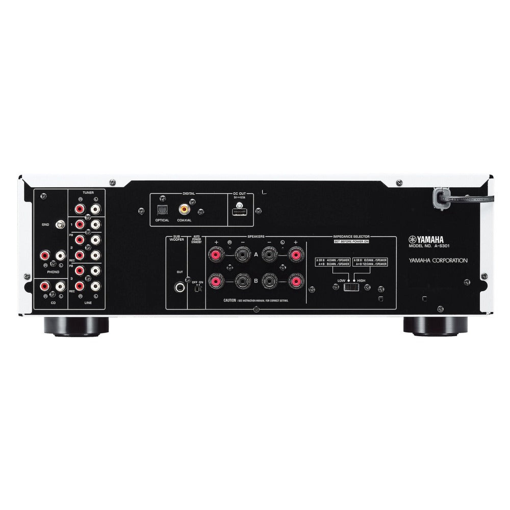 Yamaha | A-S301 Integrated Amplifier | Melbourne Hi Fi1