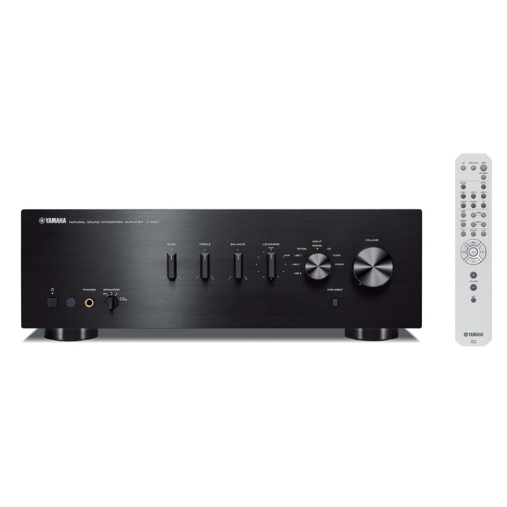 Yamaha | A-S501 Integrated Amplifier Black Open Box | Melbourne Hi Fi1