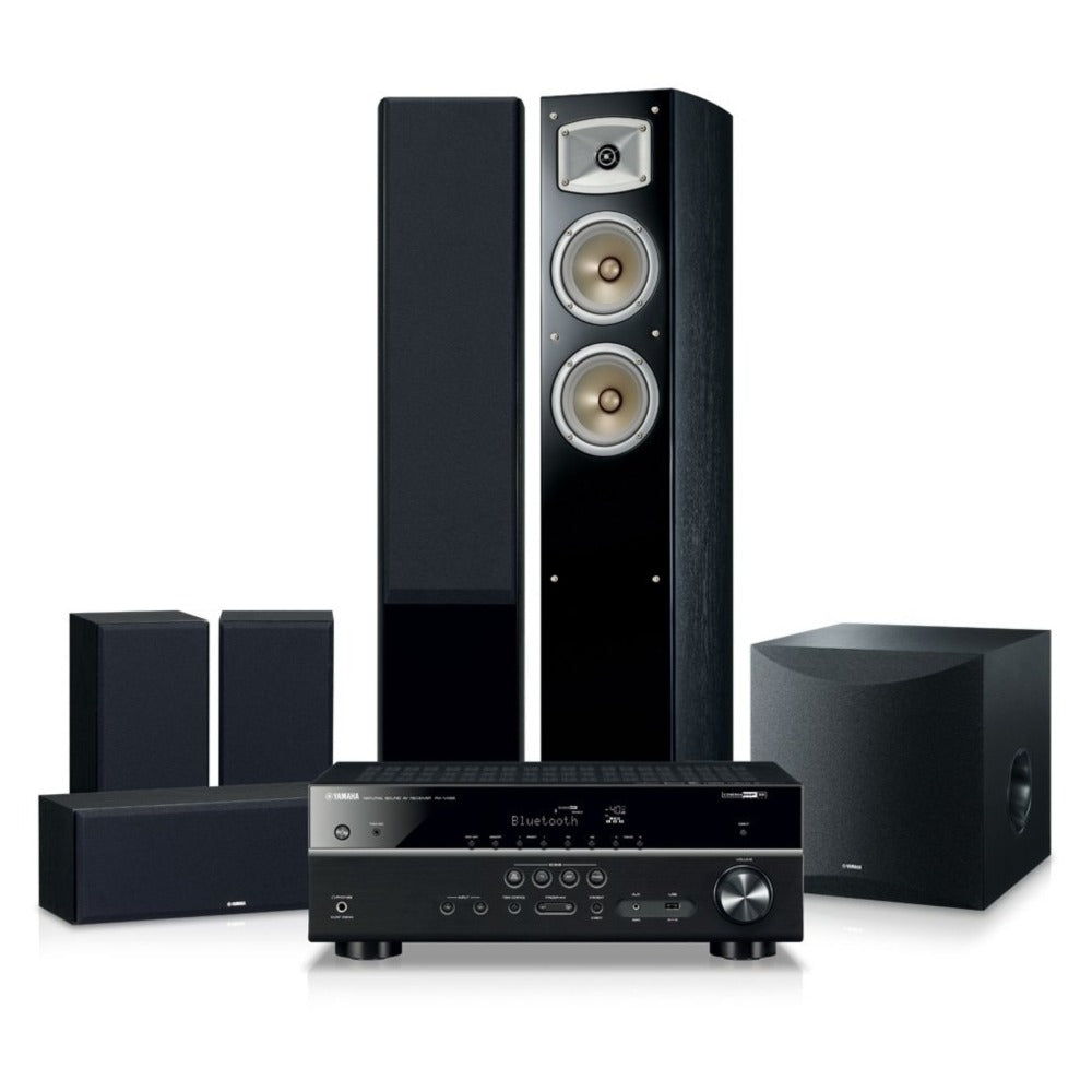 Yamaha|Blockbuster 5500 5.1 Channel Home Theatre Pack | Melbourne Hi Fi1
