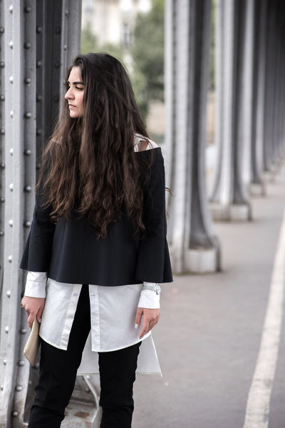 The TANROH Abound Dress gets styled by Sanssouci founder and Parisian Architecture Student, Angela