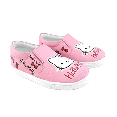 Kids Shoes Hello Kitty Designed Customised Slip - on Shoes for Girls