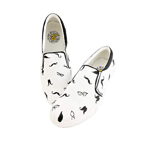 Women Shoes Hand Painted Customised Water Proof Doodle Designed Shoe Girls