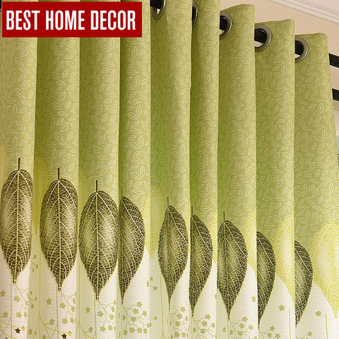 1 Pc BHD embroidered finished drapes window blackout curtains for living room the bed
