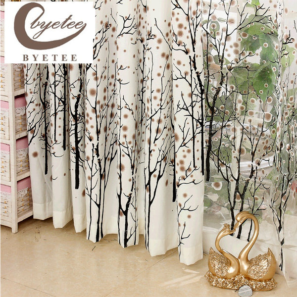Fashion Curtain Window Cortina Bedroom Curtains for Living Room Curtain Free Shi ,  - JKK Mart, JKK Mart - 1