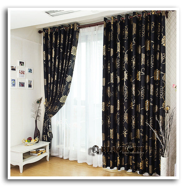 Anticorrosive Metal Grommet beautiful black and gold curtains black and silver c ,  - JKK Mart, JKK Mart - 1