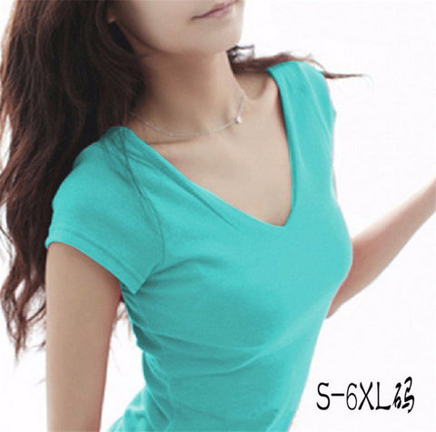 Women Tops Tees spring/summer women casual women's t-shirt short sleeve