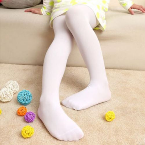 1 X 5 Solid Stocking Tights 4-9 Year Soft Velvet Children Girl Kids Pantyhose Op