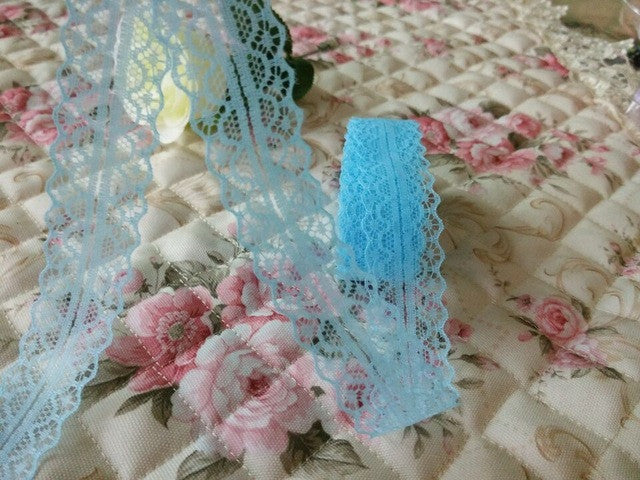 Hot! Free shipping 10 yards of beautiful lace ribbon, 10 yards, 2.8 cm wide, DIY - JKK Mart