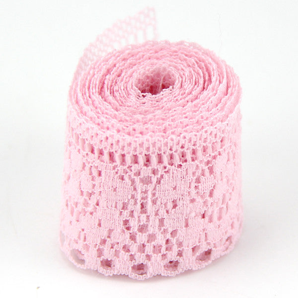 10Yard/Lot 6 Colors New Selling  High Quality Lace Ribbon Width 35MM DIY Embroid - JKK Mart