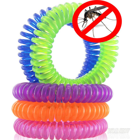 Mosquito Repellent Bracelets 10pcs/Pack Pest Control up to 240 Hours of Insect P
