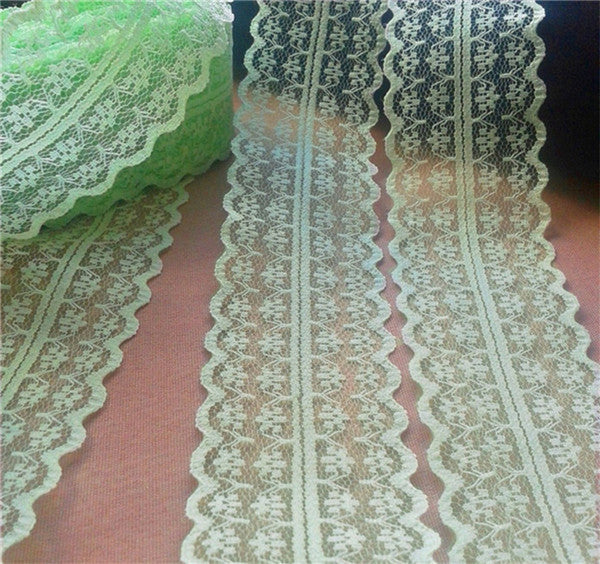 Width 45mm Hot 14yards 17color Embroidered Net Lace Trim fabric Garment ribbon h - JKK Mart
