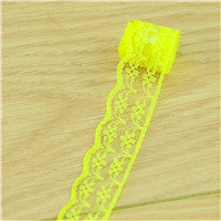 free shipping 20mm width mix Cheap Lace Fabric Trim Ribbon 10yard/lot DIY Garmen - JKK Mart