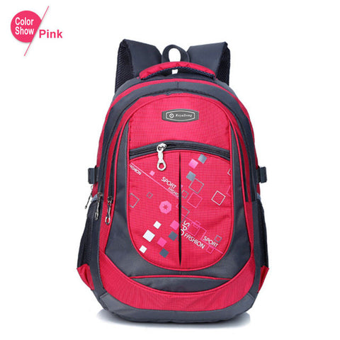School Bags for Teenagers Boys Girls High Quality Children Students Backpacks Ki - JKK Mart