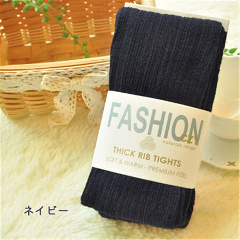 Winter Cotton Stockings Women Tights Velvet Candy Color Stockings Elastic Slim S