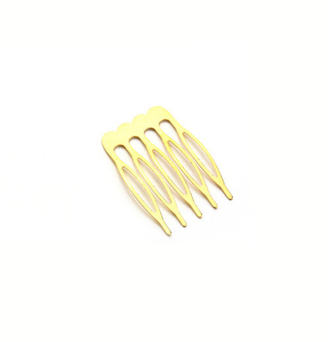 10pcs/lot 5/8/10 Teeth Metal Hair Comb Hair Clips Claw Hairpins Findings & Compo