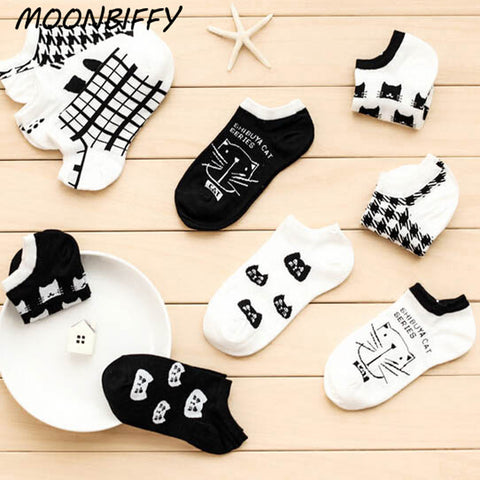 1pair girl boy socks ankle Warm cotton fiber low invisible color hosier