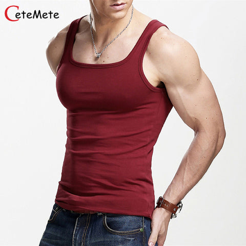 Men's Tank Tops Muscle Men Wear Gym clothing Vest Stringer Sportswear Bodybuildi
