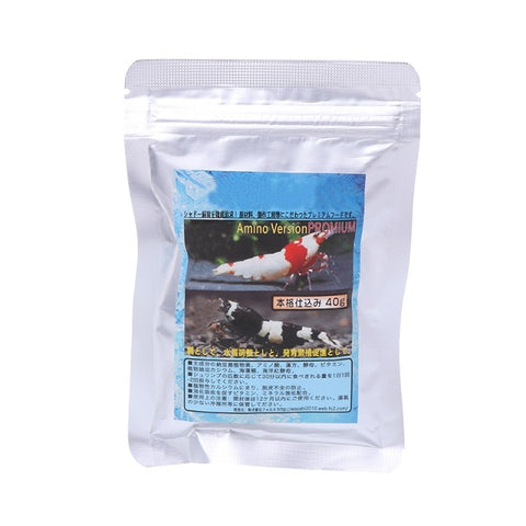 40g Aquarium Shrimp Feeding Food Bee Red Cherry Shrimp Snow Food Shrimp For Aqua