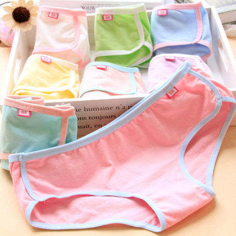New Kids Underwear Baby Sports version of the package cotton Girl Kids Panties C