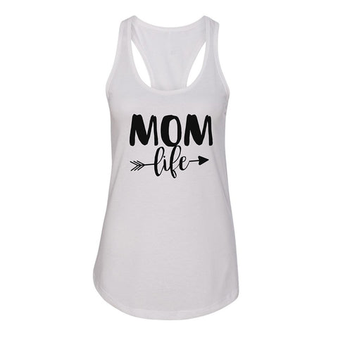 Women Tank Tops Printed Letter Sleeveless Cotton Graphic Tee