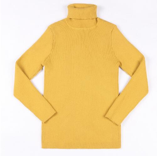 2a969dd3e71a Baby Boys Girls Autumn Turtleneck Sweaters Sweater Kids For Winter ...