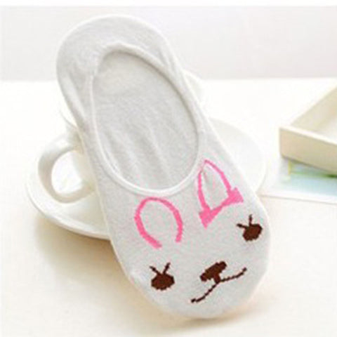 Women Socks Animal Prints Funny Low Cut Ankle Socks
