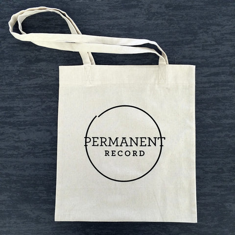 Permanent Record Tote Bag