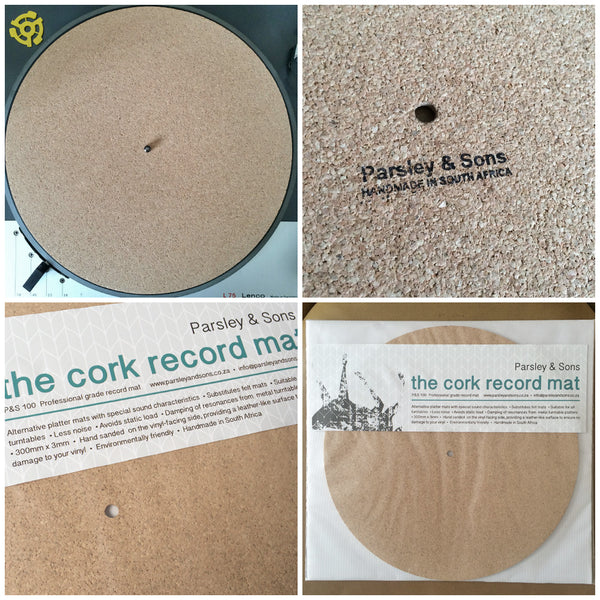P&S 100 CORK RECORD MAT