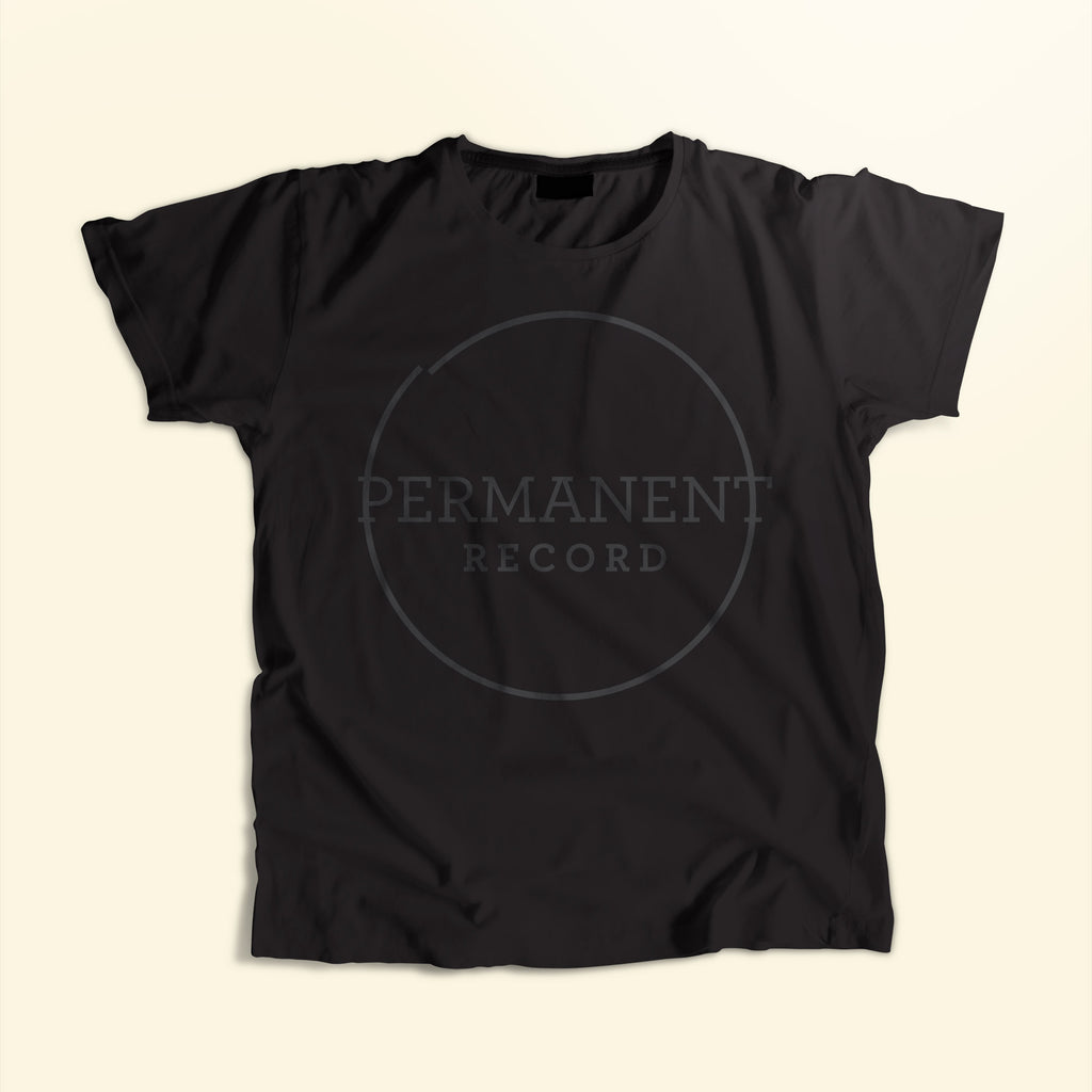 Permanent Record Logo T-Shirt