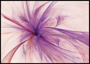 Abstract flower poster - Plakatbar.no
