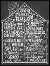 House Rules - Kul Plakat - Plakatbar.no