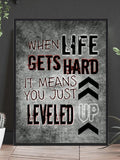 Level Up - Gamingposter - Plakatbar.no