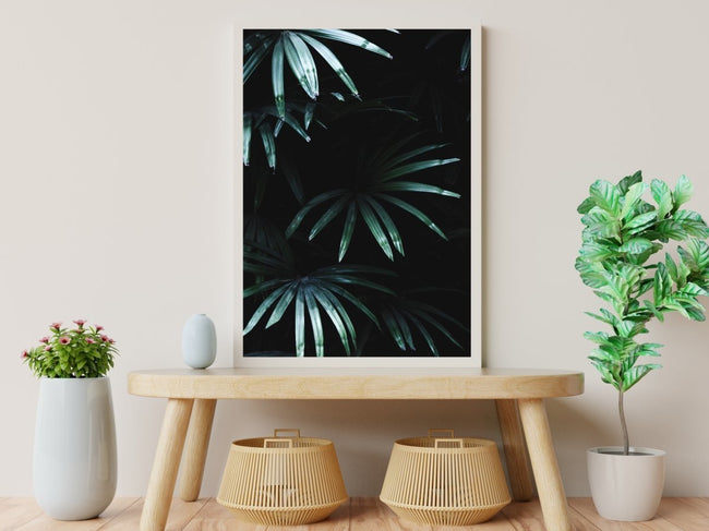 Tropical Green Leaves poster - Plakatbar.no