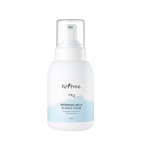 Isntree Morning Milk Bubble Foam (cleanser)