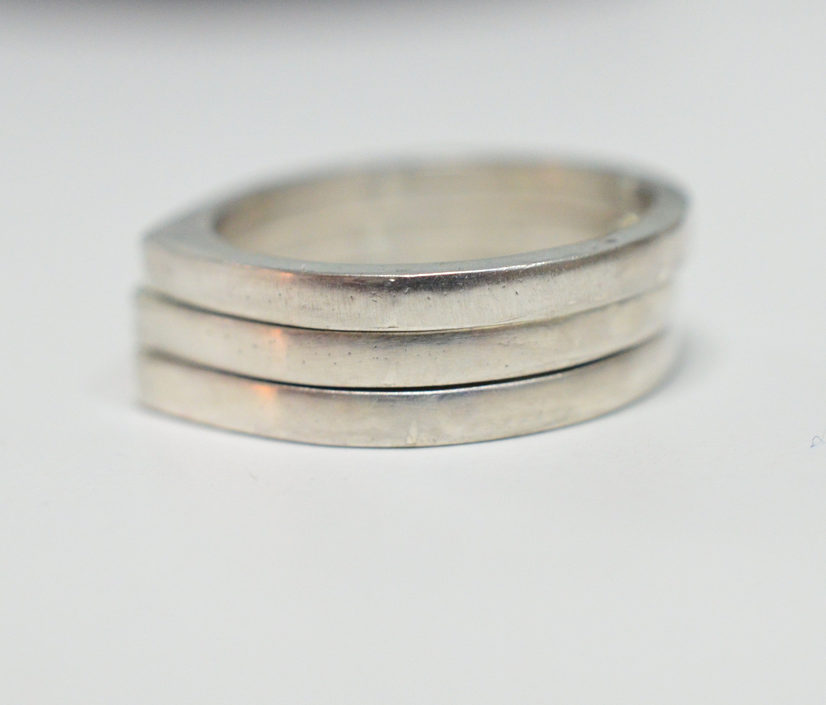Silver thin ring for teenagers, young girls and women's in all ages. - AlmaJewelryShop